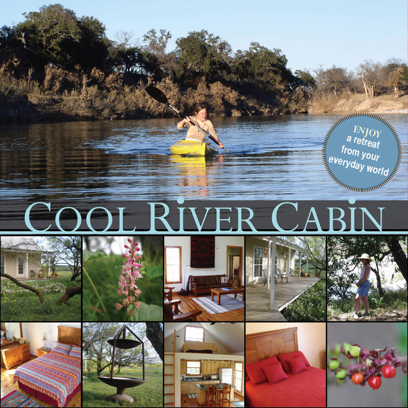 Cool River Cabin - Vacation on the Llano River